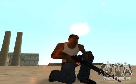 Nitro Weapon Pack para GTA San Andreas sétima tela