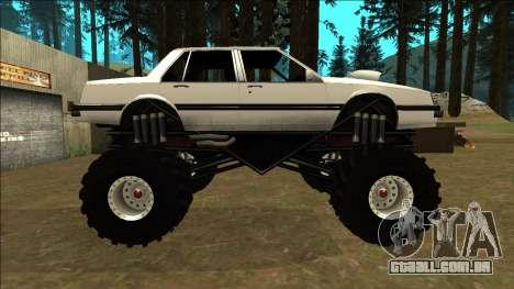 Willard Monster para GTA San Andreas esquerda vista