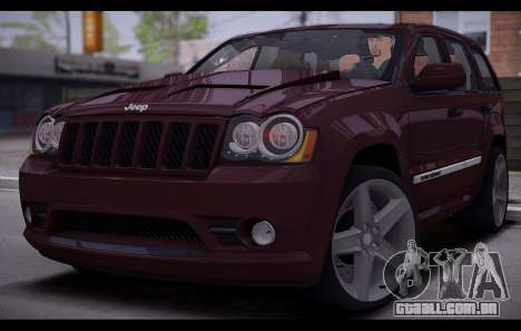 Jeep Grand Cherokee SRT8 2008 para GTA San Andreas