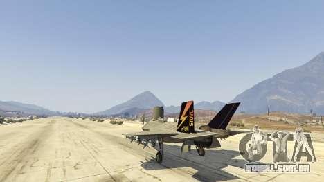 GTA 5 F-35B Lightning II (VTOL) sexta imagem de tela