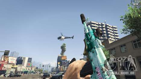 GTA 5 Rifle de assalto Anime quinta imagem de tela