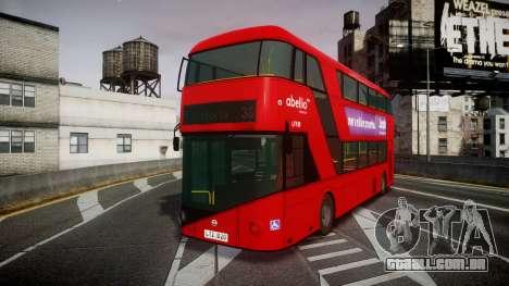 Wrightbus New Routemaster Abellio London para GTA 4