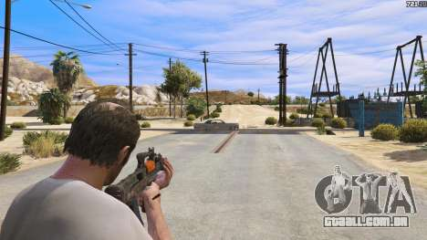 GTA 5 OTS-14 Groza de Battlefield 4 terceiro screenshot