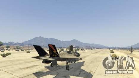 GTA 5 F-35B Lightning II (VTOL) quinta imagem de tela