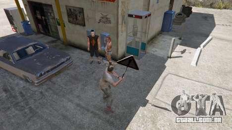 GTA 5 Sinal de estrada quarto screenshot
