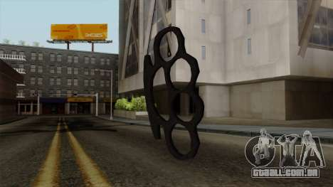 Novo soqueiras para GTA San Andreas