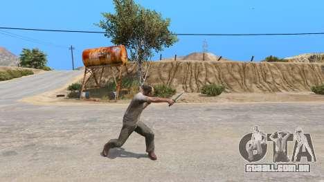 A Faca Do Rambo para GTA 5