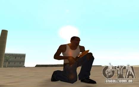 Nitro Weapon Pack para GTA San Andreas quinto tela