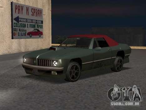 New Stallion para GTA San Andreas