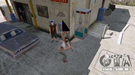 GTA 5 Sinal de estrada quinta imagem de tela