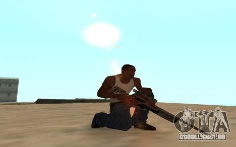 Asiimov Weapon Pack v2 para GTA San Andreas quinto tela