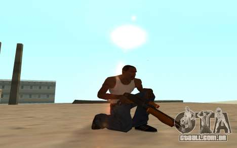 Nitro Weapon Pack para GTA San Andreas oitavo tela