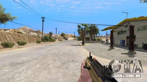 GTA 5 O TAR-21 из Battlefield 4 quinta imagem de tela