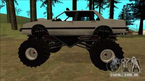 Willard Monster para GTA San Andreas vista interior