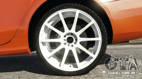 GTA 5 Audi S4 traseira direita vista lateral