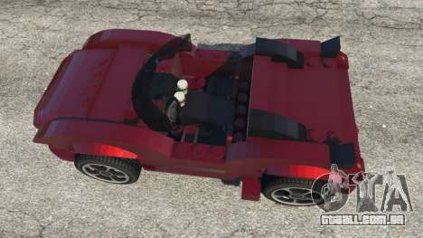 GTA 5 LEGO Car voltar vista