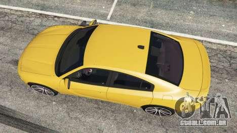 Dodge Charger RT 2015 v1.3 para GTA 5