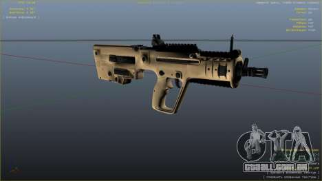 GTA 5 O TAR-21 из Battlefield 4 sétima screenshot