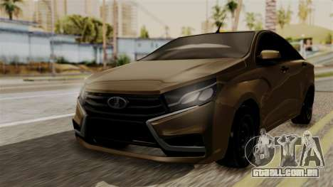 Lada Vesta para GTA San Andreas