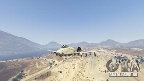 GTA 5 A-10A Thunderbolt II 1.1 sétima screenshot