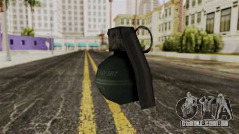 Frag Grenade from Delta Force para GTA San Andreas