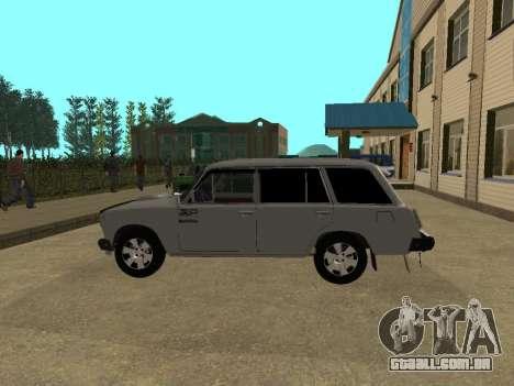 VAZ 2102 para GTA San Andreas esquerda vista