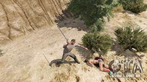 GTA 5 Espada Excalibur quinta imagem de tela
