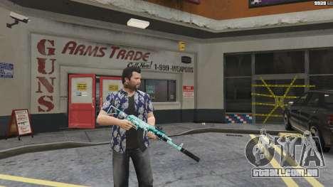 Rifle de assalto Anime para GTA 5