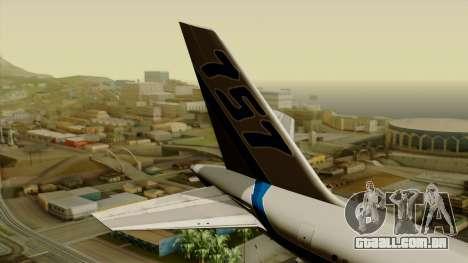 Boeing 757-200 Eastern Air Lines para GTA San Andreas traseira esquerda vista