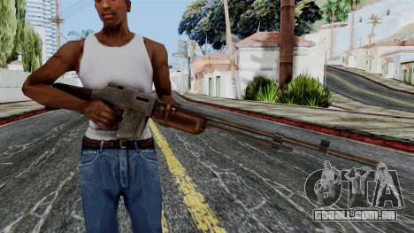 BAR 1918 from Battlefield 1942 para GTA San Andreas terceira tela