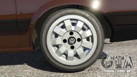 GTA 5 Volkswagen Gol GL 1.8 traseira direita vista lateral