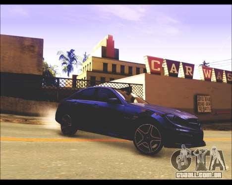 REXAS ENB v1 para GTA San Andreas por diante tela