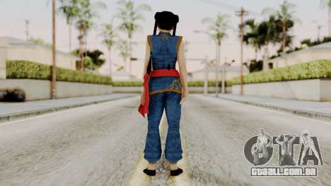DOA 5 Pai Chan para GTA San Andreas terceira tela