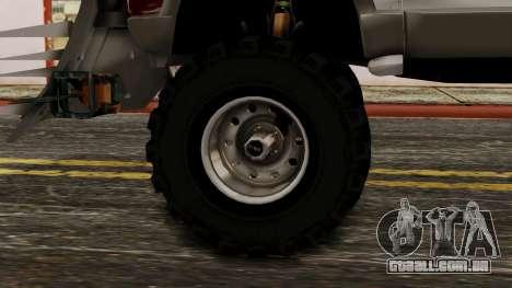 Ford Explorer Zombie Protection para GTA San Andreas traseira esquerda vista