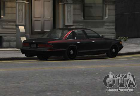 Prototype Crown 1997 Civilian para GTA 4 esquerda vista