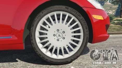 GTA 5 Mercedes-Benz S550 W221 v0.4.1 [Alpha] traseira direita vista lateral