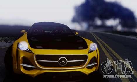 Mercedes-Benz AMG GT para GTA San Andreas esquerda vista