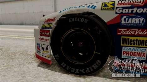 Chevrolet Lumina NASCAR 1992 para GTA San Andreas traseira esquerda vista