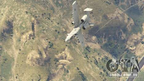 GTA 5 A-10A Thunderbolt II 1.1 oitmo screenshot