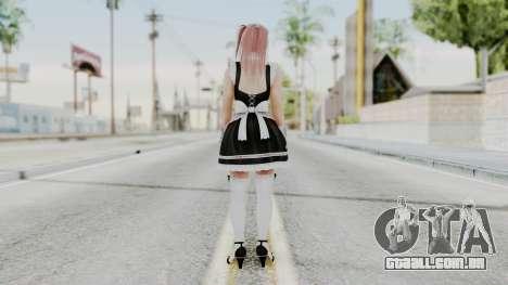 DOA 5 Honoka Maid para GTA San Andreas terceira tela