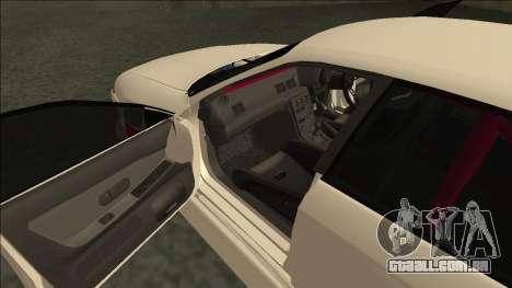 Nissan Skyline R32 Sedan Monster Energy Drift para vista lateral GTA San Andreas