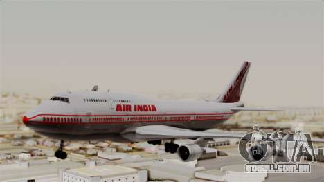 Boeing 747-400 Air India Old para GTA San Andreas