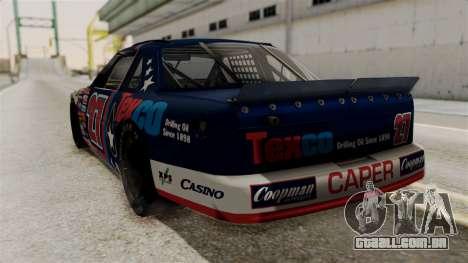Chevrolet Lumina NASCAR 1992 para GTA San Andreas esquerda vista