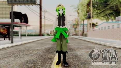 Gumi Love Is War (Vocaloid) para GTA San Andreas segunda tela