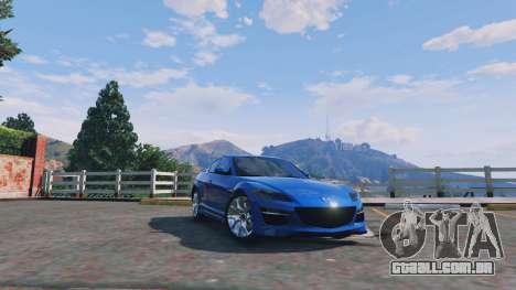 Mazda RX-8 R3 v0.1 para GTA 5