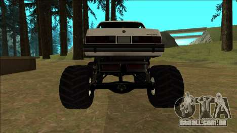 Willard Monster para GTA San Andreas vista direita