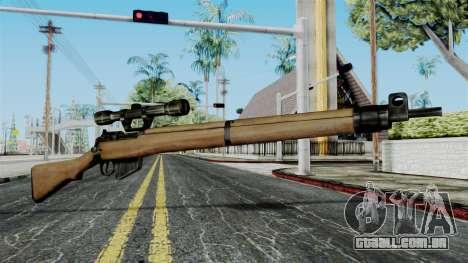 Lee-Enfield No.4 Scope from Battlefield 1942 para GTA San Andreas