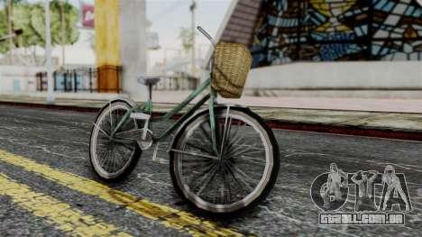 Olad Bike from Bully para GTA San Andreas