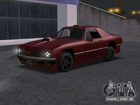 New Stallion para GTA San Andreas vista direita