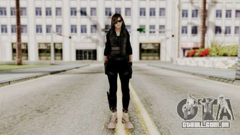 Christy Battle Suit (Resident Evil) para GTA San Andreas segunda tela